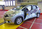 Euro NCAP 2015: Honda Jazz – Pět hvězd bez zaváhání
