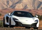 McLaren 650S Spider Al Sahara 79 je otevřený supersport s pravým zlatem. Uhádnete, kam zamíří?