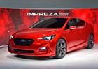 Subaru Impreza Sedan Concept: Už na to nesahat!