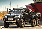 Toyota Hilux: Brut�ln� �estikolka v bulharsk� spolupr�ci