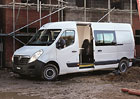 Vauxhall Movano pro d�ln�ky od Clarks Vehicle Conversions