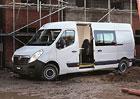 Vauxhall Movano pro dělníky od Clarks Vehicle Conversions