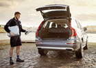 Volvo spustilo doručování poštovních zásilek... do auta
