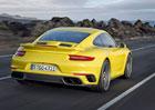 Porsche 911 Turbo a 911 Turbo S 2016: Facelift přináší 20 koní navíc