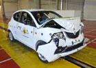 Euro NCAP 2015: Lancia Ypsilon � Jen dv� hv�zdy, za�ala ho�et