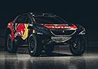 Peugeot 2008 DKR v barv�ch pro Dakar 2016