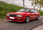 Za volantem legendy Audi Quattro: Jako Walter Röhrl!