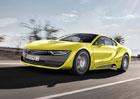Rinspeed Etos: Koncept na základě BMW i8 umí sám řídit a přistává na něm dron (+video)