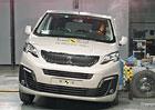 Euro NCAP 2015: Peugeot Traveller a jeho bratři to mají za pět