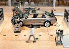 V�roba VW Phaeton skon�� na ja�e, manufaktura v Dr��anech bude p�ebudov�na