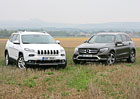Jeep Cherokee 2.2 AWD vs. Mercedes-Benz GLC 220 d