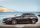 Mercedes-Benz SLC jako Shooting Brake? Ve virtu�ln�m sv�t� nic nemo�n�ho.