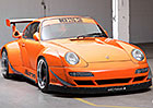 Po�i�te si Porsche 911 s osmiv�lcem z Corvette (+video)
