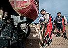 Dakar živě: Martin Kolomý popisuje nehodu v sedmé etapě (rozhovor)