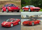 Historie mal�ch Ferrari: Od Dina 206 GT po 488 GTB