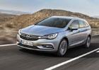 Opel Astra ST odhaluje ceník. Za kombi se připlácí 25.000 Kč