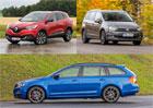 Ide�ln� rodinn� auto: MPV vs. kombi vs. SUV - Kdo je tady rodinn� typ?