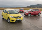 Honda Jazz vs. Nissan Note vs. Toyota Yaris � T�k� pr�ce