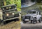 V�roba legend�rn�ho Land Roveru Defender skon�� tento t�den (+velk� galerie)