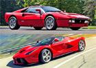 Ferrari a jeho superstroje: Od 288 GTO až po LaFerrari