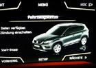 Prvn� SUV od Seatu: Vzhled odhalen d�ky multimedi�ln�mu syst�mu