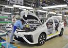 Toyota zastav� v�robu v japonsk�ch tov�rn�ch. Do�la ocel...