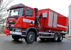 Scania: Nosiče kontejnerů pro Hasičský záchranný sbor ČR