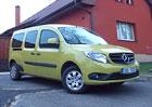 Mercedes-Benz Citan 111 CDI XL: Dost pro všechny