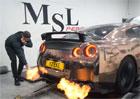 Nissan GT-R: Dokáže zapálit cigaretu?