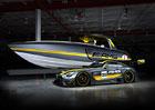 Mercedes-AMG GT3 inspirací pro extrémní člun (+video)