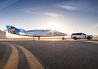 Range Rover pomohl p�i p�edstaven� Virgin Galactic SpaceshipTwo