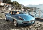 Carrozzeria Touring Superleggera Disco Volante Spyder: L�taj�c� tal�� bez st�echy