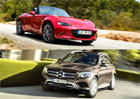 WCOTY 2016: O titul se utkaj� Audi A4, Mazda MX-5 a Mercedes-Benz GLC