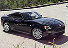 Fiat 124 Spider čeká na sourozence s pevnou střechou