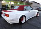 Šílené kabrio BMW E30 na prodej: Až za hranice vkusu