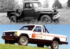 Jeep vyráběl i pick-upy. Prohlédněte si galerii pracantů!