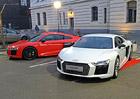 10 tajemství Audi R8: Lasery a speciální výbava pro ČR