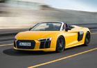 Audi R8 Spyder V10 je tady! Shodilo p�es sto kilo a st�echu st�hne za 20 sekund