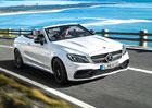 Mercedes-AMG C 63 Cabriolet jde ve stop�ch kup�