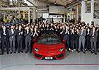Lamborghini Aventador: 5 tis�c kus� a jedeme d�l