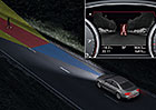 Video: Podívejte se, jak v noci vidí Audi A8