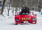 Video: Zimní kempování s Ferrari F40? Pro Japonce žádný problém!