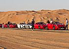 Ferrari California T Deserto Rosso: Milionáři natáčí v poušti