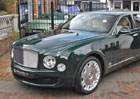 Britská královna prodává Bentley Mulsanne