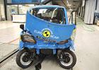 Euro NCAP otestoval mikroauta pro patn�ctilet�. Tot�ln� propad�k!