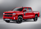 Chevrolet Silverado Rally Edition: Nov� pruhy bez hv�zd