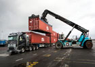Volvo Trucks FH16 vs. 750 tun (+video)