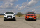 Video: Audi Q5 vs. Range Rover Evoque. Vyhýbací manévr a pipinkovský srovnávák