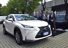 Lexus prodal už milion hybridů, bodují hlavně v Evropě