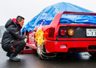Video: Ferrari F40 to na sn�hu nem�lo lehk�. M�lem skon�ilo ve strom�!